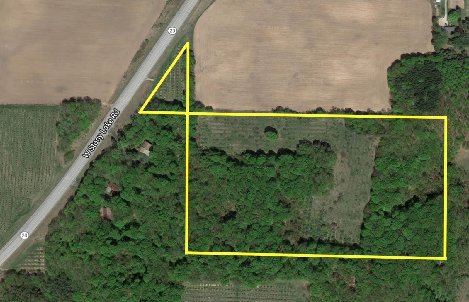 property aerial photo